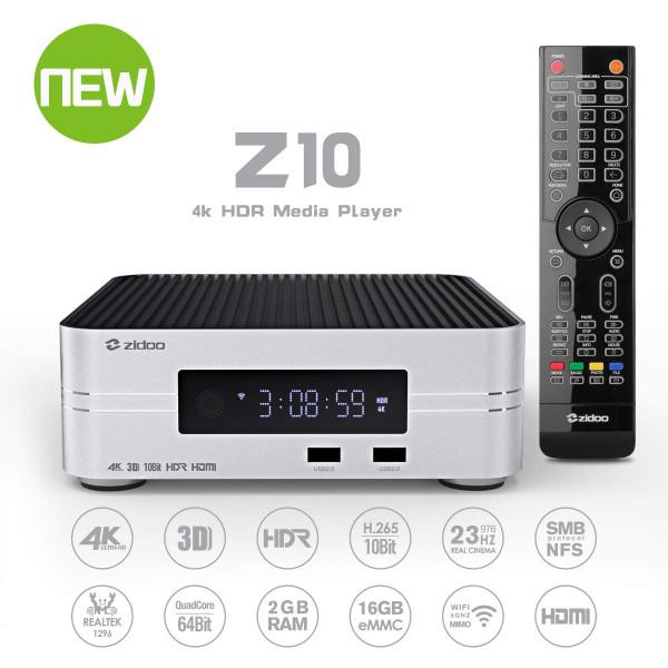 Zidoo Z10 4K Android Mediaplayer